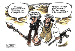 Trump and the Taliban by Jimmy Margulies