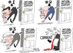 National Insecurity Adviser by Pat Bagley