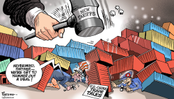 US-China trade talks by Paresh Nath