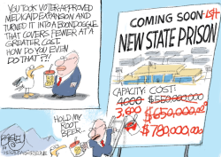 LOCAL New Prison by Pat Bagley