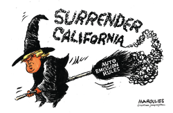 Trump and California Emission Standards by Jimmy Margulies