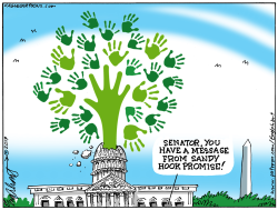 Sandy Hook Ad by Bob Englehart