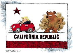Trump and California Emissions Standards by Daryl Cagle