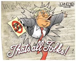 Trump and Constitution by John Cole