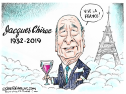 Jacques Chirac Tribute 1932- 2019 by Dave Granlund