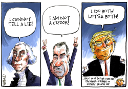Trump nobody does it better by Dave Whamond