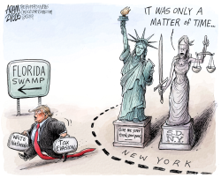 Moving to Florida by Adam Zyglis