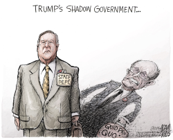 Giuliani State Dept by Adam Zyglis