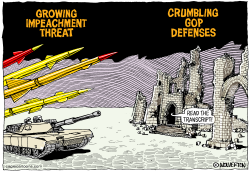 Crumbling Impeachment Defense by Wolverton