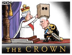 Prince Andrew Bagged by Steve Sack
