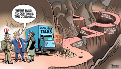 Afghan peace journey by Paresh Nath
