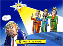 Three Wise Women by Dave Whamond