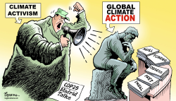 Global climate action by Paresh Nath