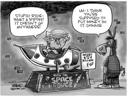 Space Force deal by Dave Whamond