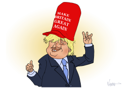 Boris Make Britain Great Again by NEMØ