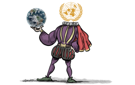 To be or not to be - United Nations and Climate Change by Martin Sutovec