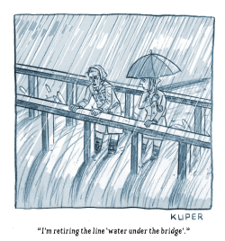 Water Under the Bridge by Peter Kuper