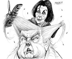 trump impeachment by Petar Pismestrovic
