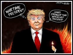 Wartime Trump by J.D. Crowe