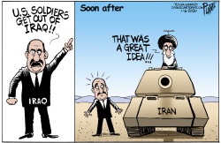 Iran vs Iraq by Bruce Plante