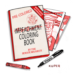 Impeachment ing Book by Peter Kuper