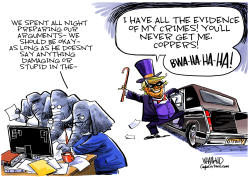 Trump has all the evidence by Dave Whamond