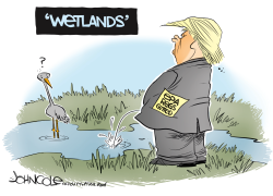 NATIONAL Trump and water quality regulations by John Cole