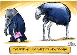 New GOP symbol by Dave Whamond