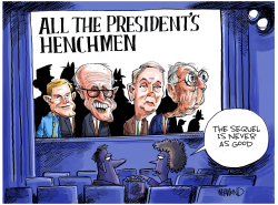 All the Presidents Henchmen by Dave Whamond