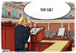 Heckler in Chief at State of the Union by R.J. Matson