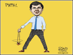 Mayor Pete by Terry Mosher