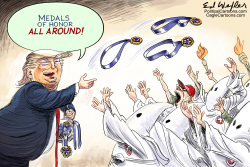 Medals All Around by Ed Wexler