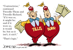 LOCAL NC Tweedle Thom and Tweedle Richard by John Cole
