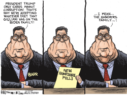 Barr Giuliani New Hampshire by Kevin Siers