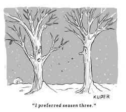 Tree Season Three by Peter Kuper