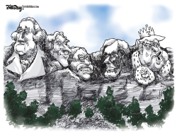 Mt Rushmore by Bill Day
