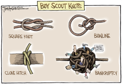 Boy Scouts by Joe Heller