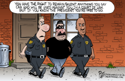Right To Remain Silent by Bruce Plante