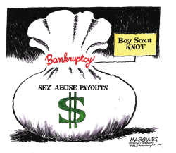 Boy Scouts Bankruptcy by Jimmy Margulies