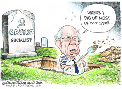Bernie and Socialism by Dave Granlund
