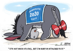 Eeyore Democratic Party Feels the Bern by R.J. Matson