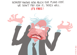Bernie's Plans Cost by NEMØ