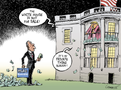 Can you buy the presidency? by Patrick Chappatte