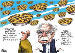 Bernie's Pies in the Sky by Dave Whamond