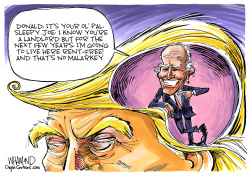 Biden on the brain by Dave Whamond