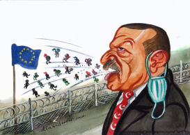 Erdogan and EU by Alla and Chavdar
