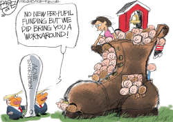 LOCAL: Education Shoe  by Pat Bagley