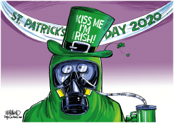 St. Patrick's Day 2020 by Dave Whamond
