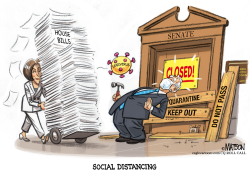 Senate Avoids Legislation Virus by R.J. Matson