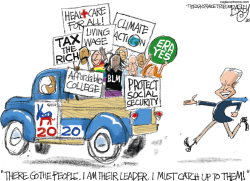 Biden's Run  by Pat Bagley